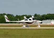 Experimenteel vliegtuig royalty-vrije stock afbeeldingen