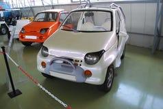 Experimentella bilar i det tekniska museet av AVTOVAZ Stad av Togliatti Samararegion Royaltyfri Fotografi