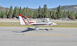 Experimentellt flygplan Royaltyfri Foto