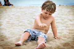 Experimentos de la niñez Foto de archivo
