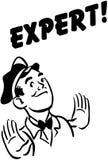 Expert stock illustration