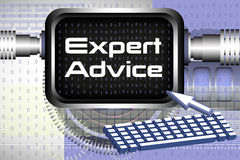 Expert advice Stock Images