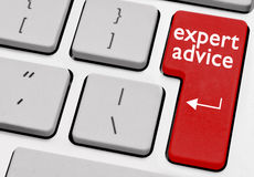 Expert advice Stock Image