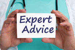 Expert advice doctor medicine disease ill illness Royalty Free Stock Image