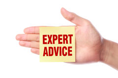 Expert advice Royalty Free Stock Photos