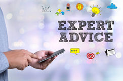 EXPERT ADVICE Royalty Free Stock Images