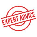 Expert Advice rubber stamp Royalty Free Stock Photography
