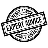 Expert Advice rubber stamp Stock Photo