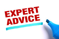 Expert advice royalty free stock image
