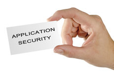 Expert in application security Royalty Free Stock Photos