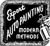 Expert Auto Painting Stock Photography