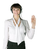 The expert call the centre Stock Photography