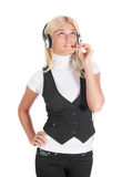 The expert call centre Stock Images