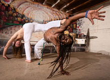 Expert Capoeira Performers Stock Photos