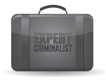 Expert criminalist suitcase Stock Photo