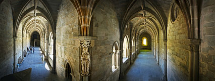 Expert en logiciel (cathédrale) d'Evora, Portugal Photo stock