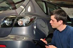 Expert en matière d'assurance. Photo stock