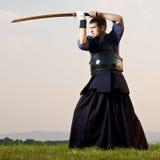 Expert en matière de Kendo image libre de droits