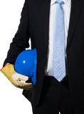The expert with a hardhat Stock Images