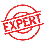 Expert rubber stamp Royalty Free Stock Photography