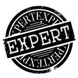 Expert rubber stamp Stock Photo