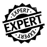 Expert rubber stamp Stock Photography