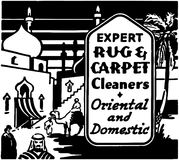 Expert Rug Cleaners Stock Photos