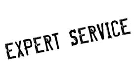 Expert Service rubber stamp Stock Image