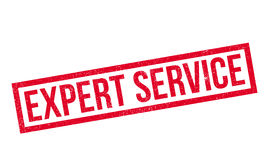 Expert Service rubber stamp Stock Photo