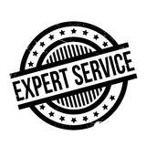 Expert Service rubber stamp Stock Photography