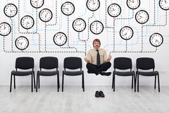 Expert time management Stock Photo