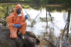 Expert water analysis Stock Photo