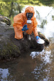 Expert water analysis Royalty Free Stock Image