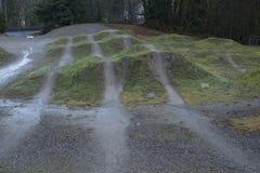 Expertis för Burnaby bergcykel parkerar Arkivfoton