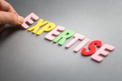 expertise fotografia stock