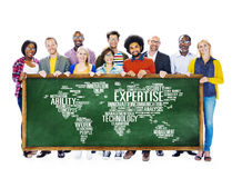 Expertise Career Job Profession Occupation Concept Royalty Free Stock Images