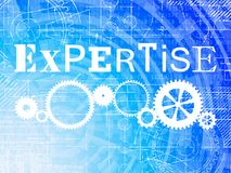 Expertise High Tech Background Royalty Free Stock Image