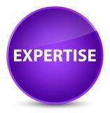 Expertise elegant purple round button Stock Photos