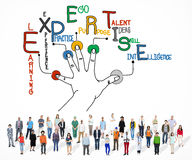 Expertise Learning Knowledge Skill Expert Concept Stock Image