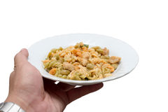 Expertly cooked macaroni Stock Photos
