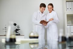 Experts at work Royalty Free Stock Images