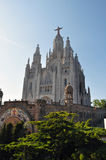 Expiatory Church of the Sacred Heart of Jesus. This is the Expiatory Church of the Sacred Heart of Jesus in Barcelona Spain Stock Photos