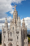 Expiatory Church of the Sacred Heart of Jesus Stock Photo