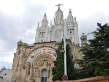 Expiatory Church of the Sacred Heart of Jesus Royalty Free Stock Images
