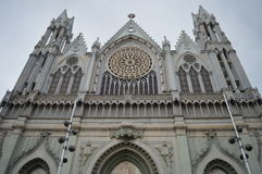 Expiatory Church of the Sacred Heart of Jesus stock photos