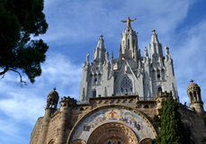 Expiatory Church of the Sacred Heart of Jesus Stock Photography