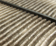 Expire car air filter Stock Images