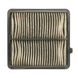 Expire car air filter Royalty Free Stock Photos