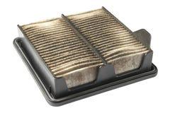 Expire car air filter Royalty Free Stock Photo