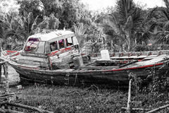 Expired boat Royalty Free Stock Photo